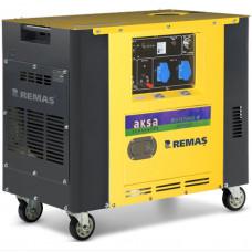 Портативный генератор Aksa AAP 8000 DE