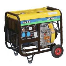 Портативный генератор Aksa AAP 8000 DE (6,8 кВт)